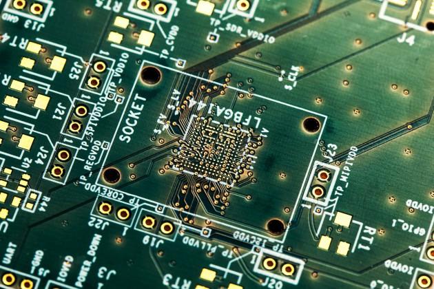 ML8 Board (multi-layer) for telecommunications