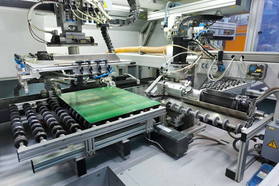 Mechanical processes - CNC routing and scoring